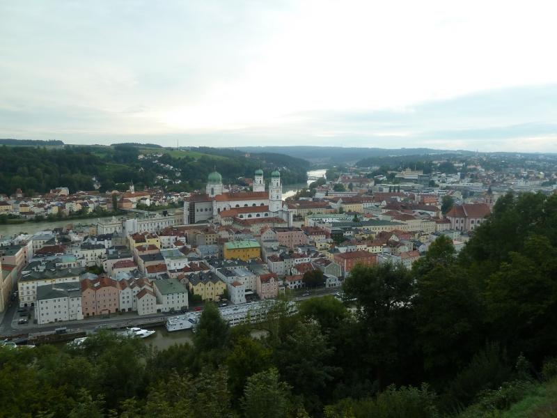 P4 Passau vue de l'Auberge de jeunesse