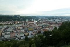 Passau vue de l'Auberge de jeunesse