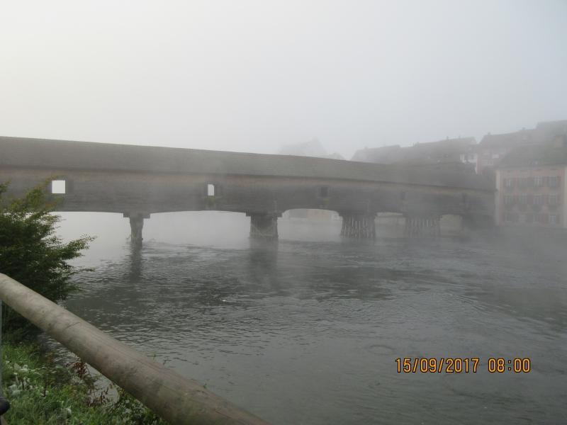 U1 Pont de bois au dessus du rhin