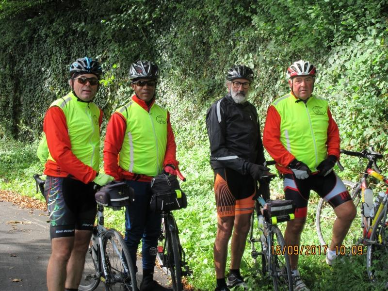 V2 La photo de notre arrivée dans le Doubs