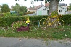 7 Une décoration le long de la piste cyclable