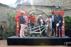 Orléans, remise du vélo