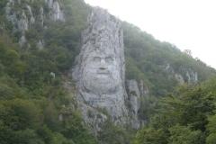 2 la statue de Decebal à Dubova