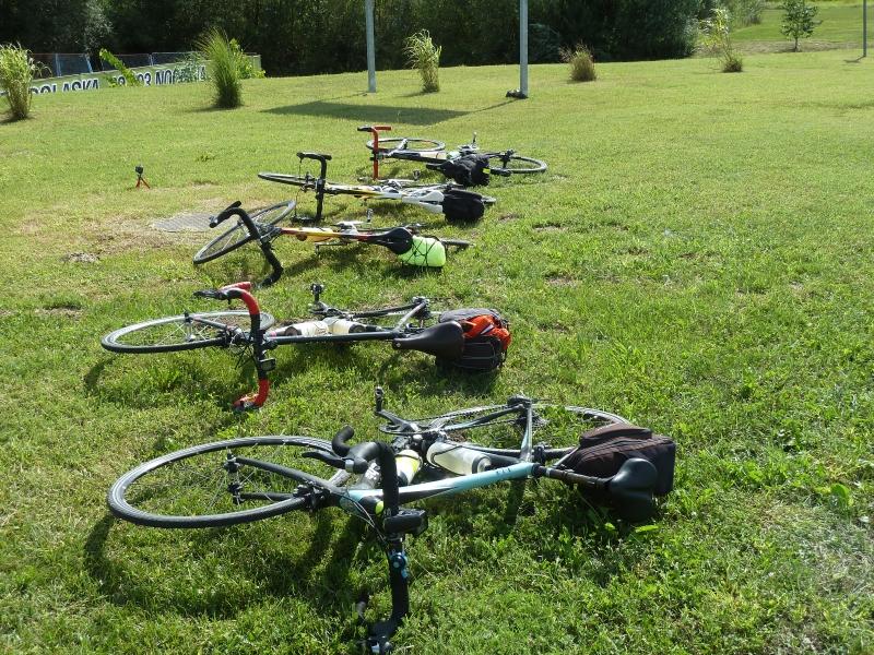 3 Les vélos au repos