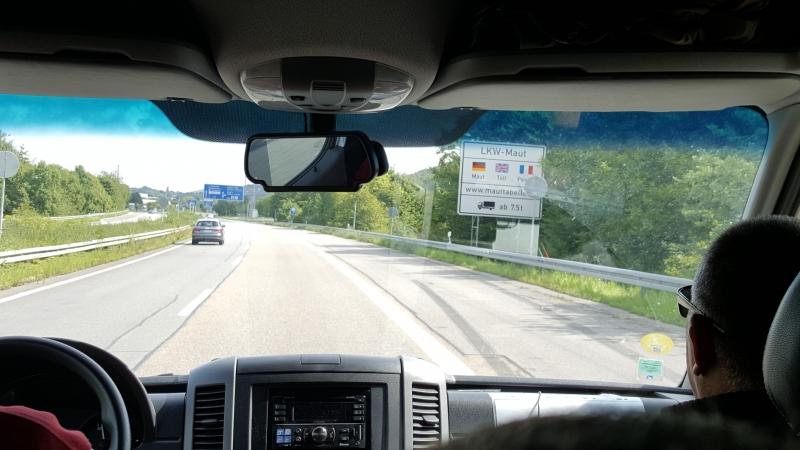 A03 - Passage de la frontière Franco-Allemande