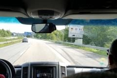 03 - Passage de la frontière Franco-Allemande