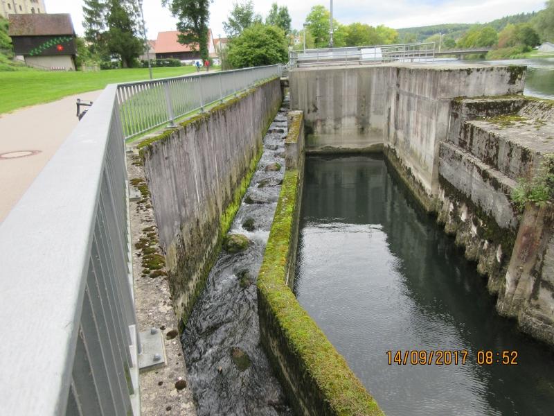 S21-2 Barrage avec passage pour remontée de poissons