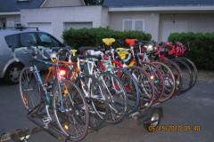 A l'époque nous possédions une remorque à vélo