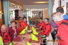 Le déjeuner du 15 juin à Saint Brévin.