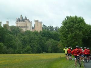 Un des nombreux châteaux découverts sur le parcours.