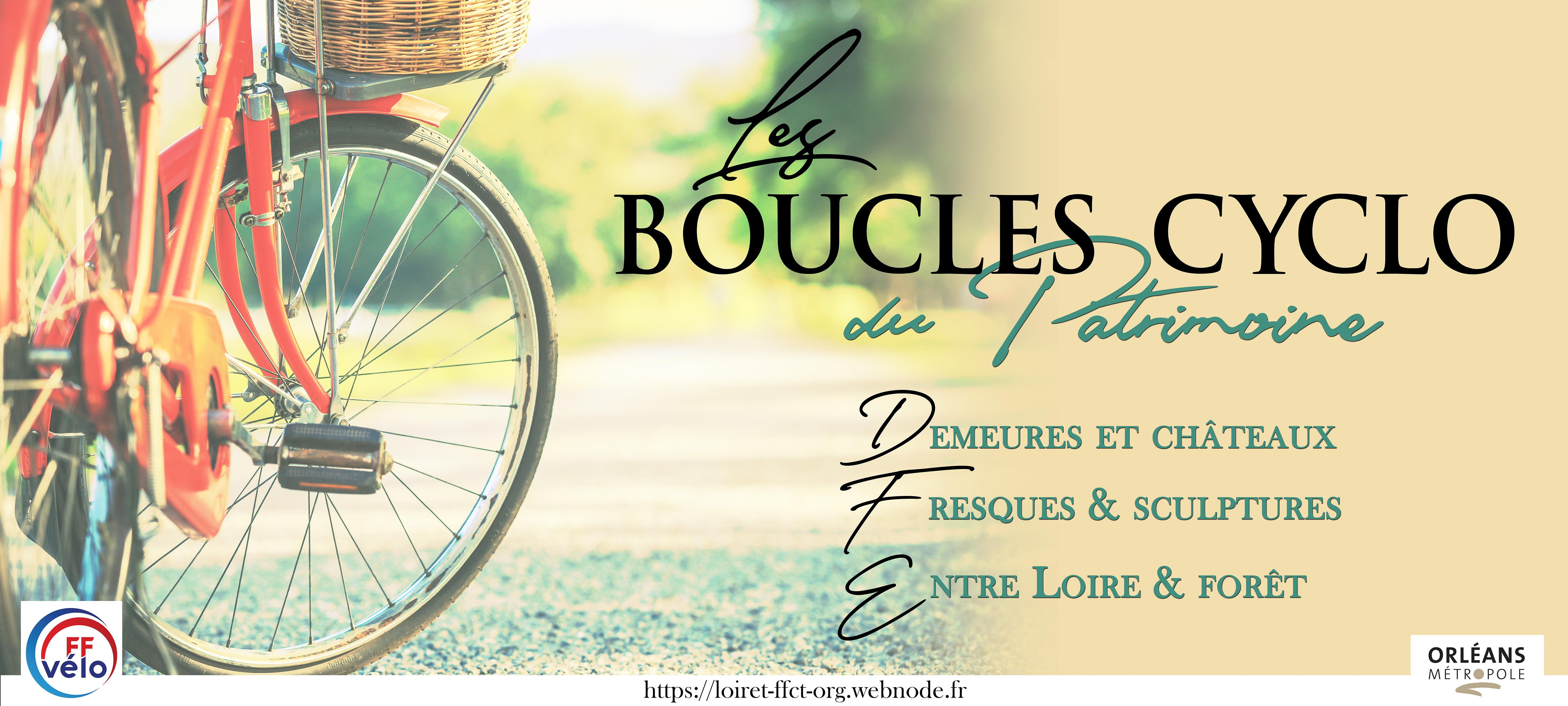 Informations et inscriptions aux Boucles Cyclo du Patrimoine