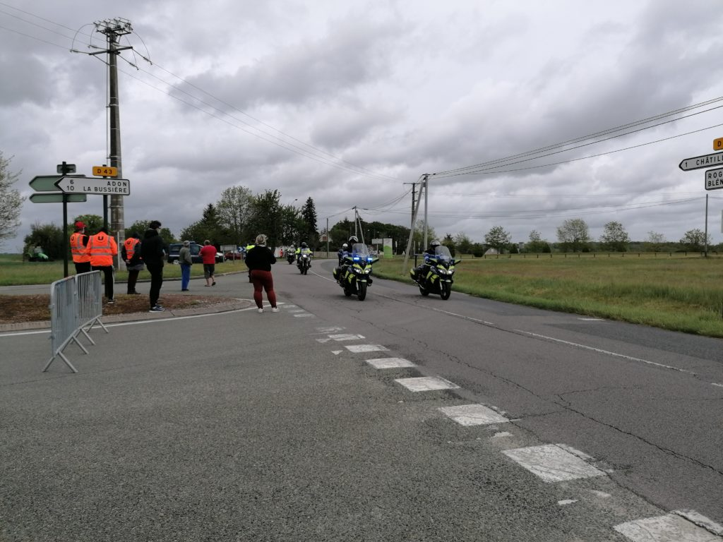 Les motos du tour du Loiret