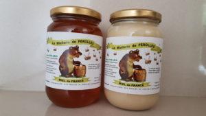 2 pots de miel