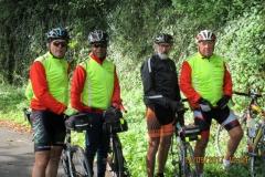 La photo de notre arrivée dans le Doubs