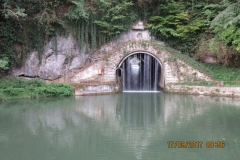 Un tunnel surprenant Roche de Thoraise