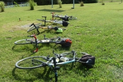 H3 Les vélos au repos