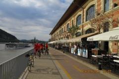 Sur les bords du Danube à Budapest