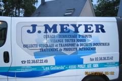 Le véhicule de l'Entreprise Meyer
